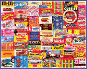 Vintage Candy Wrappers Jigsaw Puzzle