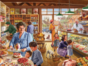 The Cake Shop Jigsaw Puzzle