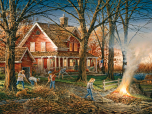 Autumn Evening Jigsaw Puzzle