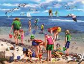 Shell Seekers Jigsaw Puzzle