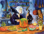 Witches' Brew Countdown to Halloween Calendar