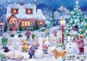 Snowman Celebration Advent Calendar