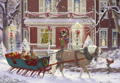 Sleigh Ride Advent Calendar