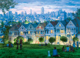 San Francisco Seven Sisters Jigsaw Puzzle
