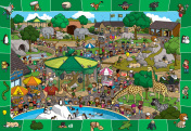 A Day in the Zoo Spot & Find Jigsaw Puzzle