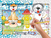 Best Friends Color Your Own Puzzle