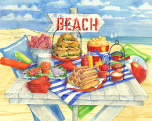 Picnic at the Beach Jigsaw Puzzle