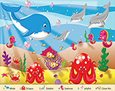 Sea Time 24 Piece Floor Puzzle