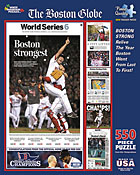 Red Sox Boston Strong Jigsaw Puzzle