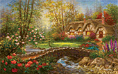 Country Home Jigsaw Puzzle