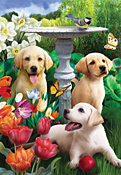 Playful Pups Jigsaw Puzzle