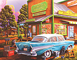 Aunt Sheila's Cafe Jigsaw Puzzle