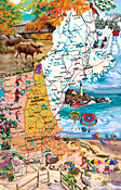 New England Road Trip Jigsaw Puzzle