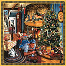 Fathers Christmas Train Puzzle