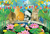 Fish Pond Pals Jigsaw Puzzle