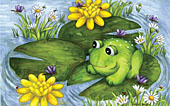 Mr. Frog Jigsaw Puzzle