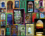 Doors of the World Jigsaw Puzzle