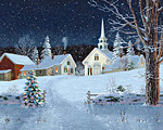 Christmas Lights Jigsaw Puzzle