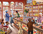 Old Candy Store Jigsaw Puzzle
