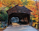 Albany Covered Bridge Jigsaw Puzzle