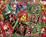 Ugly Christmas Sweaters Jigsaw Puzzle