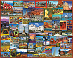 Best Places in America Jigsaw Puzzle