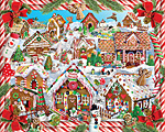 Gingerbread Village Jigsaw Puzzle