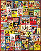Comedy Movie Posters Jigsaw Puzzle