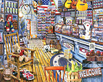Jackson's General Store Jigsaw Puzzle