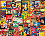 Vintage Tins Jigsaw Puzzle