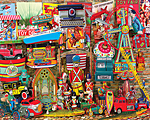 Antique Toys Jigsaw Puzzle
