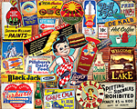 Tin Signs Jigsaw Puzzle