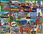Boston Collage Jigsaw Puzzle
