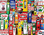 Gas Pumps Jigsaw Puzzle