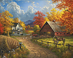Country Blessing Jigsaw Puzzle