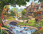Summer Village Jigsaw Puzzle