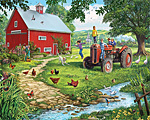 The Old Tractor Jigsaw Puzzle