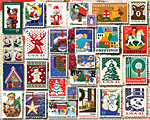 Christmas Stamps Jigsaw Puzzle