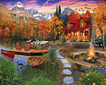 Cozy Cabin Jigsaw Puzzle