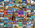 Best Places in the World Jigsaw Puzzle