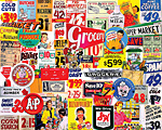Vintage Groceries Jigsaw Puzzle