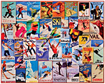 Ski Posters Jigsaw Puzzle