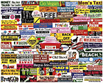 Bumper Stickers Jigsaw Puzzle
